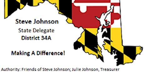 Fundraiser for Delegate Steve Johnson, Dist 34A tickets