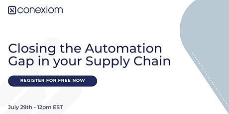 Closing the Automation Gap in your Supply Chain tickets