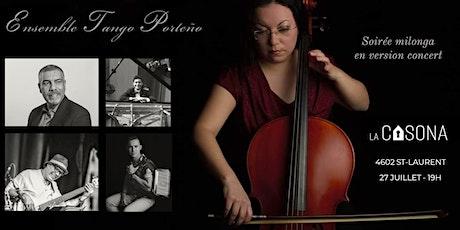 Ensemble Tango Porteño - Soirée milonga version concert tickets