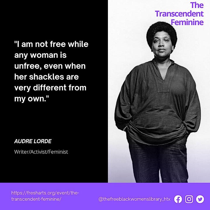 "A Single Thread Weaves a Future Presents: ""The Transcendent Feminine"" image"