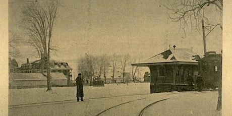 Conférence  :   Le tramway, la famille Bagg et le village d'Ahuntsic tickets