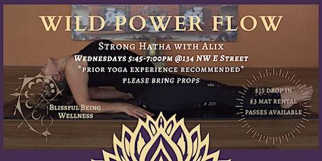 Wild Power Flow with Alix tickets