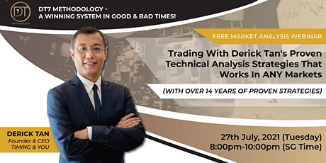 FREE MARKET ANALYSIS WEBINAR With Over 14 Years Of Proven Strategies tickets