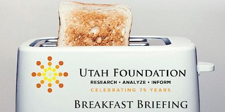 Utah Foundation Breakfast Briefing | Mental Health in Anxious Times tickets