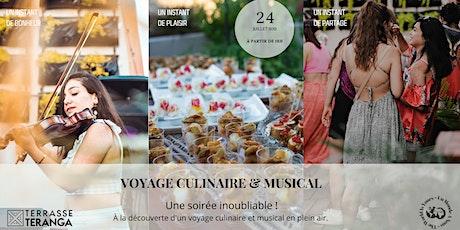 Terrasse Teranga - Voyage culinaire et musical tickets