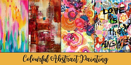 Art Workshop for Teens - Abstract Painting on Canvas tickets
