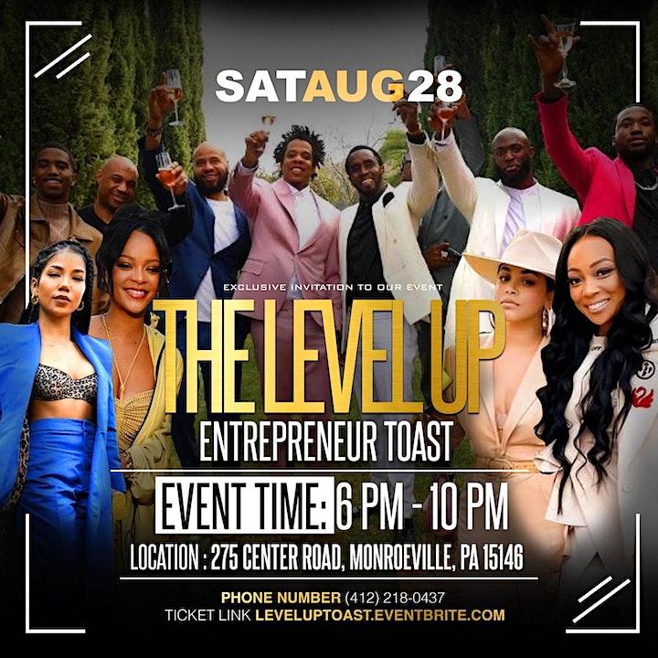 The Level Up Entrepreneur Toast image