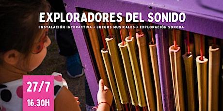 EXPLORADORES DEL SONIDO tickets
