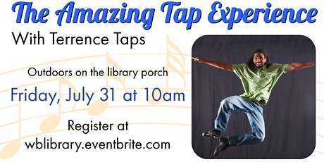 The Amazing Tap Experience - Dance Performance with Terrence Taps tickets