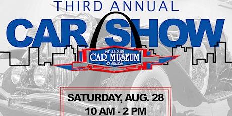 3rd Annual St. Louis Car Museum Car Show tickets