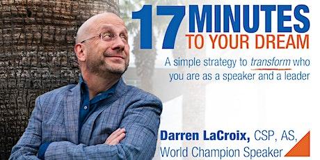 Help World Champion Speaker Darren LaCroix Hone His Next Presentation! tickets