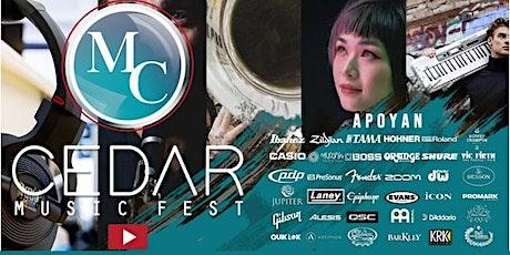 Concierto artistas Cedar Medellín 23 de Julio entradas
