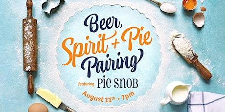 SanTan Beer, Spirit + Pie Pairing featuring Pie Snob tickets