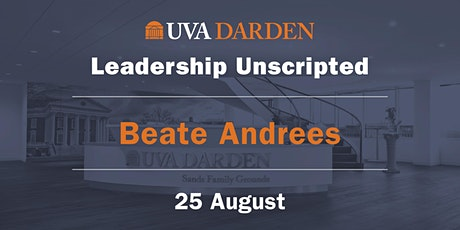 Leadership Unscripted: A Conversation with Vidya Mani and Beate Andrees tickets