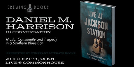 Brewing on Books: Live at Jackson Station tickets