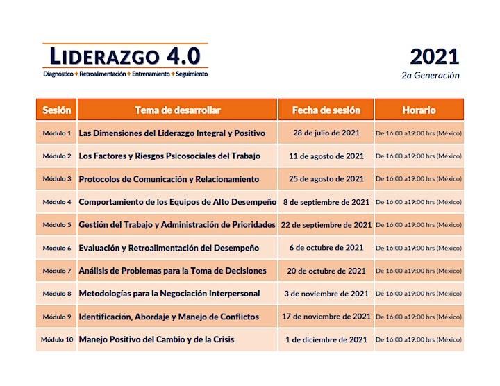 Imagen de Las Dimensiones del Liderazgo Integral & Positivo (Liderazgo 4.0)