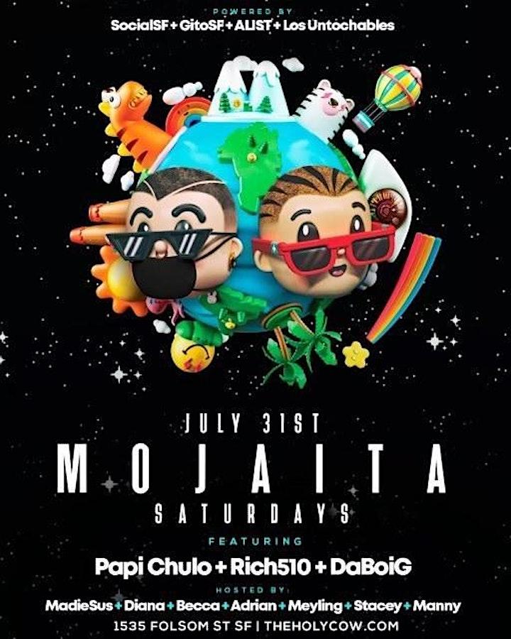 MOJAITA SATURDAYS @ THE HOLY COW | LAUNCH PARTY | image