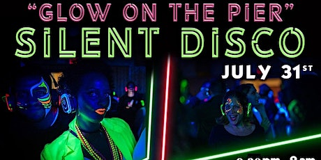 """7/31: """"GLOW ON THE PIER"""" SILENT DISCO PARTY @ WATERMARK BEACH - PIER 15 NYC tickets"""