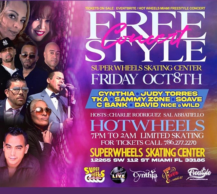 Freestyle Concert At Super Wheels Skating Center Miami Florida image