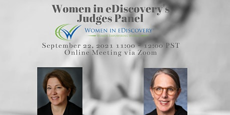 Women in eDiscovery - eDiscovery Judges Panel Tickets