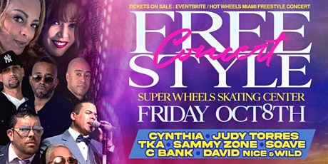 Freestyle Concert At Super Wheels Skating Center Miami Florida tickets