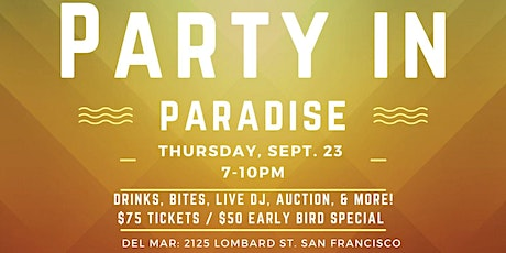 Party in Paradise tickets
