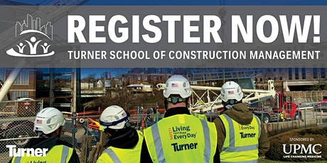 Fall 2021 Turner School of Construction Management - Sponsored by UPMC tickets
