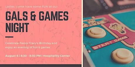 Gals & Games tickets