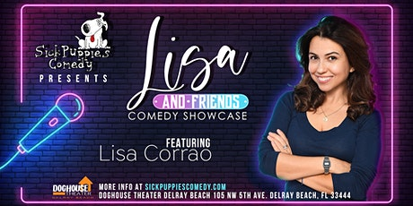 Lisa and Friends Stand Up Comedy Show In Delray Beach tickets
