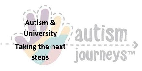 Autism and University: Taking the next step biglietti