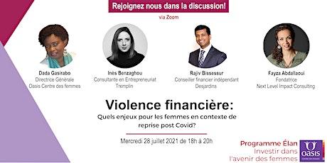 Violence financière: quels enjeux pour les femmes ? tickets