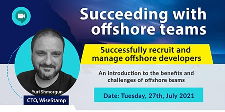Succeeding with offshore teams tickets