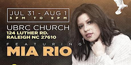Mia Rio Worships @ Fearless Tour - Raleigh, NC tickets