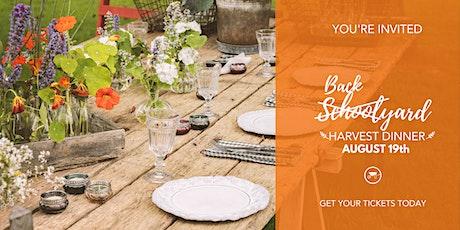 Backyard Harvest Dinner with Friends tickets