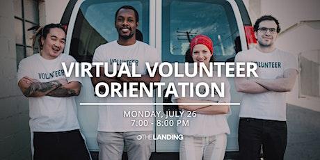 Virtual Volunteer Orientation - July 26th, 2021 tickets
