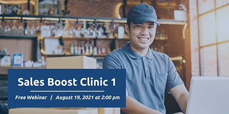 Sales Boost Clinic - Part 1 tickets