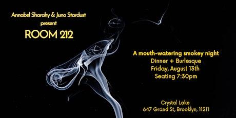 Room 212 - A delectable burlesque experience tickets