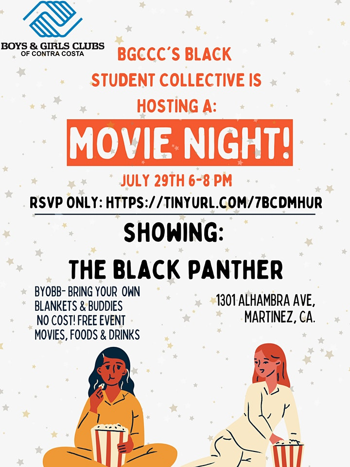Black Panther Movie night with BGCCC Black Student Collective image