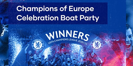 Champions of Europe Celebration Boat Party tickets