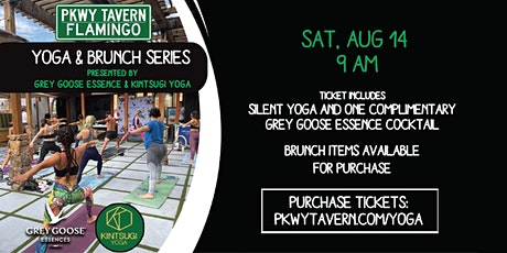 Silent Yoga & Brunch tickets