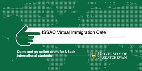 ISSAC Virtual Immigration Cafe tickets