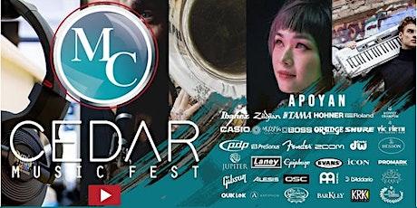 Concierto Artistas Cedar Sábado 24 de Julio Medellín. boletos