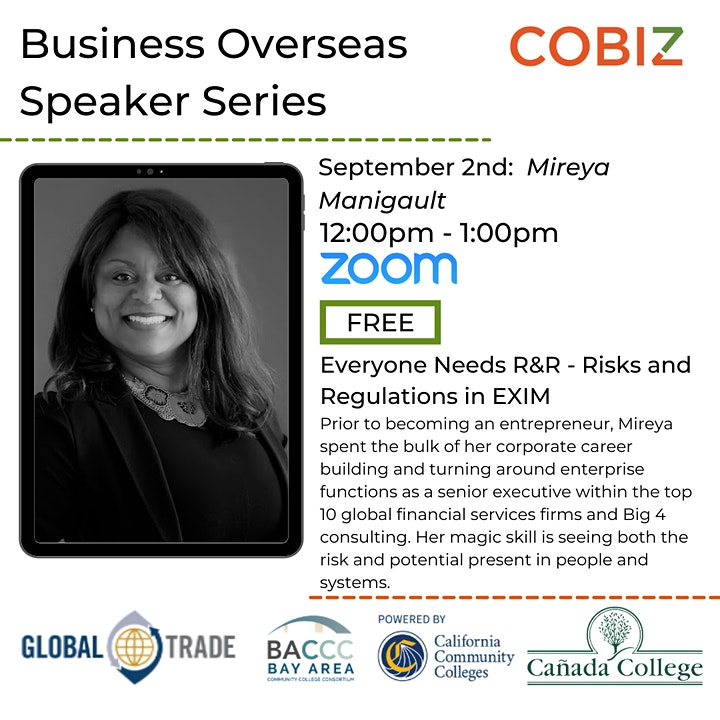 Business Overseas Speaker Series For Small Businesses image