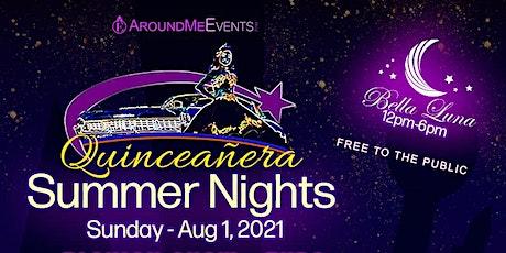 Quinceañera Summer Night Fashion Show Expo tickets