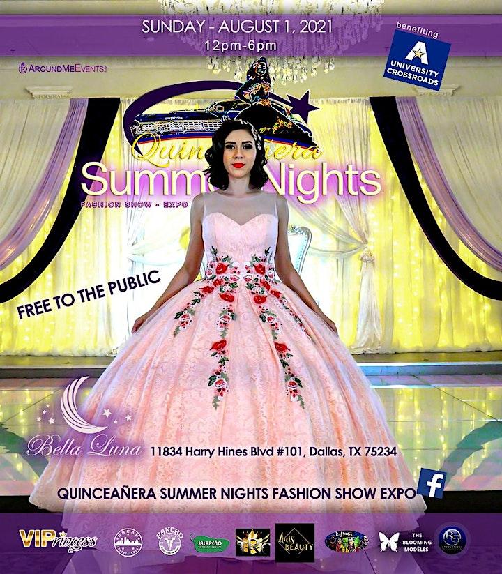 Quinceañera Summer Night Fashion Show Expo image