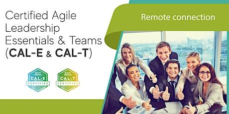 Certified Agile Leadership Essentials & Teams (CAL-E & CAL-T) tickets
