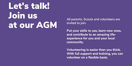 East Grinstead District Scout Council AGM tickets
