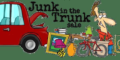 Junk in the Trunk Rummage Sale tickets