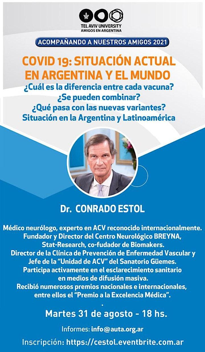 Imagen de Dr. CONRADO ESTOL: COVID 19: SITUACIÓN ACTUAL EN ARGENTINA Y EL MUNDO