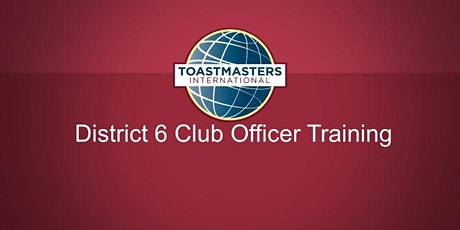 Club Officer Training:  Division E tickets